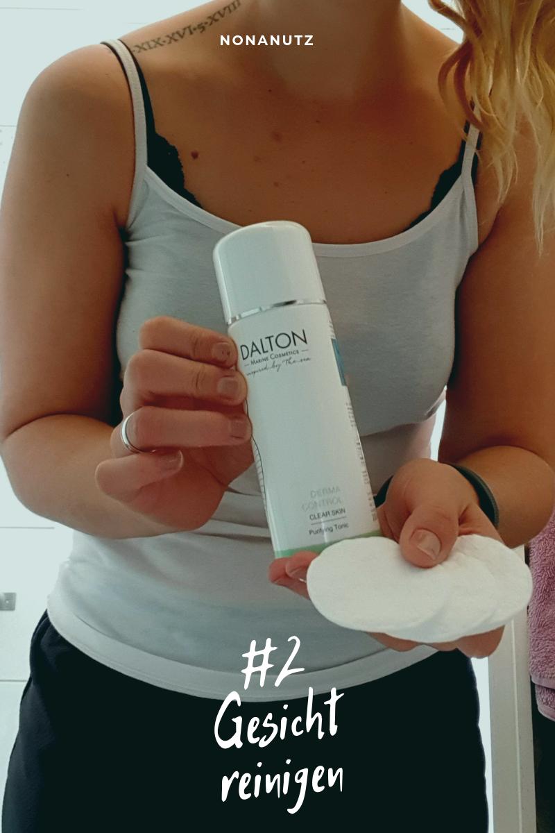 Gesichtsreinigung mit Dalton Cosmetics, Mein 20-Minuten Pflegeprogramm mamaschreibtneliste checkliste produkt