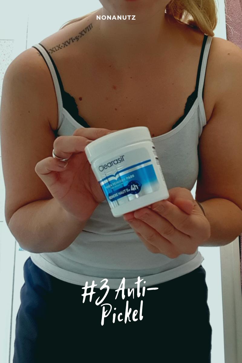 Anti-Pickel Mission mit Clearasil, Mein 20-Minuten Pflegeprogramm mamaschreibtneliste checkliste produkt